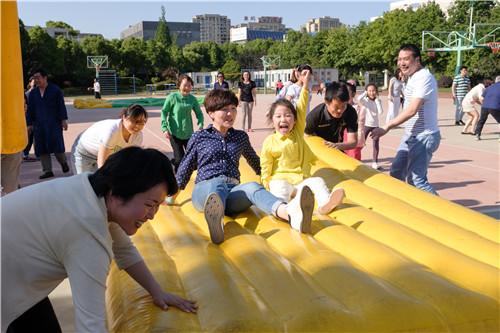 旱地龙舟-上海市风华初级中学门户网站